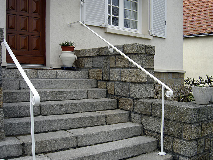 Rampe ext rieure for Main courante escalier exterieur