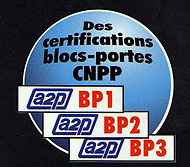 Certification bloc porte CNPP